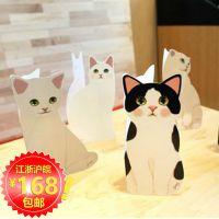 韩国文具jetoy可爱猫咪立体贺卡圣诞贺卡祝福卡片批发定制配信封
