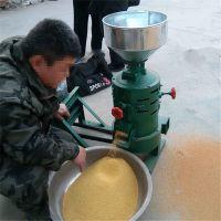 立式电动脱皮碾米机 小型砂辊式碾米机 圣鲁牌
