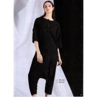 诺兰贝尔北京品牌折扣店加盟 折扣女装代理尾货金色套装波西米亚新款组货包