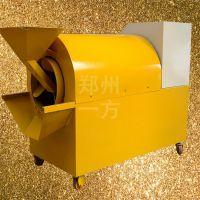 一方不锈钢滚筒炒货机 花生瓜子板栗滚筒炒锅 小型全自动炒货机