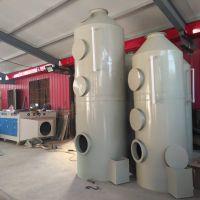 20T燃煤锅炉配备实恒PP喷淋塔脱硫塔除尘设备的规格型号市场价格
