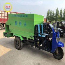 渭南市养牛大户用喂料车 润丰 柴油出草料机械 喂料车源头厂家