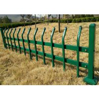 彭州市喷塑锌钢草坪护栏厂家直销