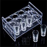 亚克力透明杯架 亚克力展示架口杯架有机玻璃红酒杯架 消毒杯架