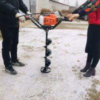 光伏发电打洞机 刨坑钻窝机生产 慧聪机械挖坑机批发水泥电线杆埋设钻眼机1