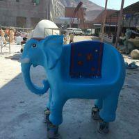 园林大型玻璃钢雕塑凳子幼儿园卡通动物雕塑摆件长颈鹿小马坐凳工艺品