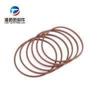 现货供应耐高温耐酸碱棕色氟胶viton星型圈美标AS568型X型圈X-RING
