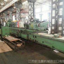 低价出售大型二手外圆磨床加工中心M1380X4500无锡机床厂4.5米