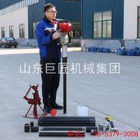 供应华夏巨匠QTZ-3便携式取土钻机 浅层土样采集设备
