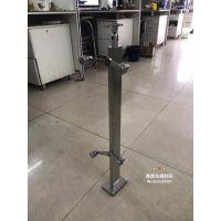商场工程不锈钢玻璃栏杆-不锈钢扶手立柱供应商