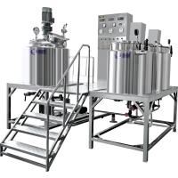 厂家定制乳化机 固定式 真空乳化机 乳化搅拌罐 剪切乳化机 化妆品设备