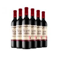 上海张裕代理商(CHANGYU)红酒 精品干红葡萄酒750ml*6瓶团购价01