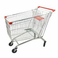 厂家直销超市购物车批发60-300升手推车