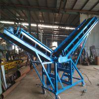 砖块装车皮带式输送机 六九水泥粉粉煤灰密封式输送机