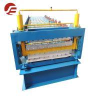 河北世博压瓦机厂供应电脑全自动840-900双层覆膜机