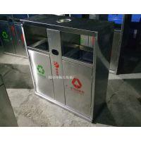 不锈钢分类垃圾桶 环保材质分类垃圾桶图片 内江户外垃圾桶批发