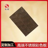 交叉拉丝石纹不锈钢加工_发纹黑色不锈钢板