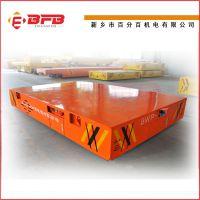 定制大吨位钢厂无轨过跨平板车 55吨电动无轨渣包车 百分百品牌设计