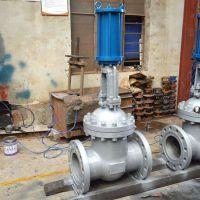 三科Z741H液动闸阀是由电液动装置同刀闸阀配合,实现电控液动,同时配合信号输出控制,可实现远程自控