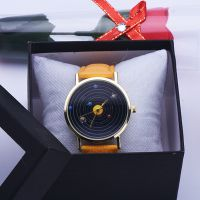 清仓太阳系图案皮带手表 休闲时尚学生表 儿童表 时装百搭新款式