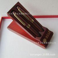 定做大学纪念品  毕业纪念品 大学礼品 木制笔盒 培训定制