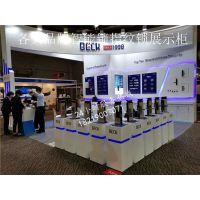 芜湖 顶固VICOOL微酷指纹锁展示柜 智能密码锁展示架
