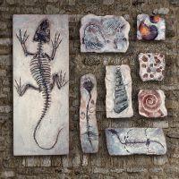 心的家居原创树脂化石墙面装饰品壁挂墙挂文化墙组合挂件软装配饰