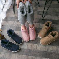 日式秋冬新款保暖包跟棉鞋女轻便防滑拖鞋男情侣室内户外拖鞋批发