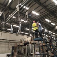 多功能高大厂房车间降温安装瑞泰风工业吊扇