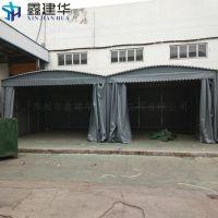 合肥肥西县伸缩雨棚布配件 移动式停车蓬 自动弧形帐篷专业品质保障好