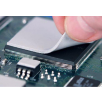 高导热硅胶片笔记本电脑CPU显卡显存散热片固态粘性硅脂垫片分切加工批发
