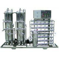 世骏牌不锈钢纯水设备 反渗透+ EDI电去离子工艺 超纯水电阻率18兆欧