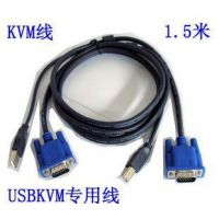 USB KVM涓夊苟绾?杩堟嫇鍒囨崲鍣? 1.5绫?