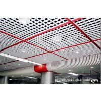 三角形铝制格栅天花板 方形铝制格栅天花生产