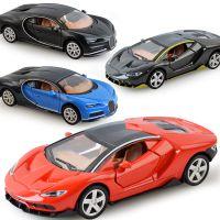 厂家直销 1:32合金回力车模型儿童玩具小汽车 Q版迷你跑车可开门