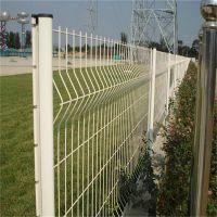 公路双边三角折弯防护网 低碳钢丝园艺护栏网