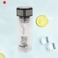 701玻璃杯单层加厚便携男女水杯定制logo礼品杯耐热透明水晶杯子