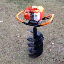 限时促销 新款便携式手提挖坑机 单双人手提种树钻孔 东北钻冰机
