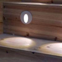 鑫宝泰嵌入式地脚灯86型楼梯台阶灯走廊走道墙脚灯XBT-D001