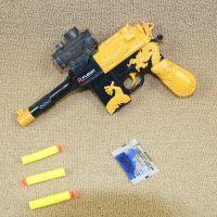 地摊热卖儿童玩具枪电动3合一软弹水弹枪手枪仿真军事模型批发