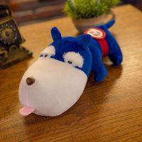 厂家直销新款创意趴狗儿毛绒玩具儿童公仔玩偶生日礼物活动礼品
