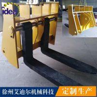 厂家直销 装载机货叉1150*1010*980(mm)滑移装载机货叉