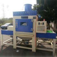 广西喷砂机 输送式自动喷砂机平面板材去应力