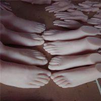 微整形实验练习仿真头模硅胶制品 美容美甲医用仿真短手模脚模制品