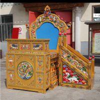 开创成都藏式古典家具定制 成都明清家具加工厂家 中式古典禅意藏式经文柜制作 1.2米