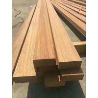 定制印尼菠萝格防腐木户外景观实木地板露台庭院栈道原木板材木方