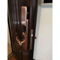 不锈钢指纹锁防盗门密码电子锁半导体指纹头,C级锁芯招经销代理工程合作