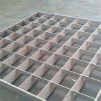 插接式钢格栅板 热镀锌钢格板 花纹板