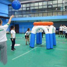 户外投篮比赛道具趣味运动会充气篮球架幼儿园活动游乐设备可定制 趣味运动道具哪里有卖