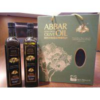 阿巴尔特级初榨橄榄油750ML*2礼盒装团购批发